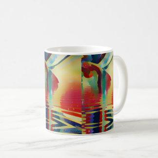 Coole Bohnen Kaffeetasse