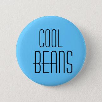 coole Bohnen Runder Button 5,7 Cm