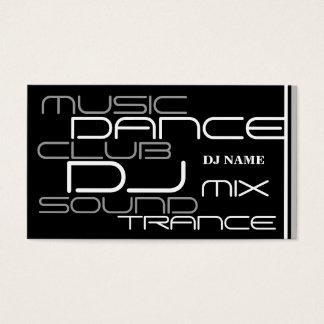 Coole DJ-Geschäfts-Karte Visitenkarten