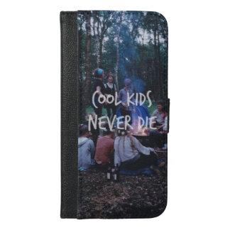 Coole Kinder die nie Geldbörsen-Kasten iPhone 6/6s Plus Geldbeutel Hülle