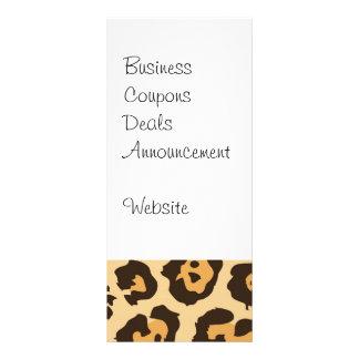 Coole Leopard-Druck-Muster-Geschenke für sie Werbekarten