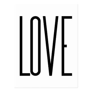 Coole Liebe - unbedeutender grafischer Entwurf Postkarte