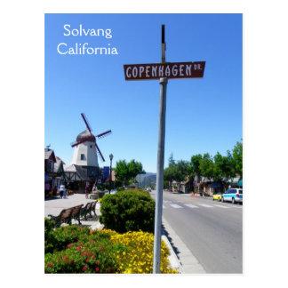 Coole Solvang Postkarte! Postkarte