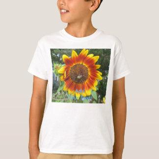 Coole Sonnenblume-Pflanze T-Shirt