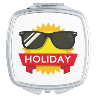 Coole sunglass Sonne Taschenspiegel