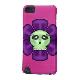 Coole Zombie-Schädel-Blume iPod Touch 5G Hülle