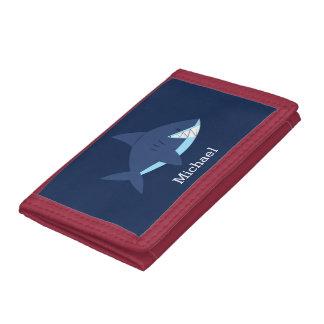 Cooler blauer lächelnder Haifisch