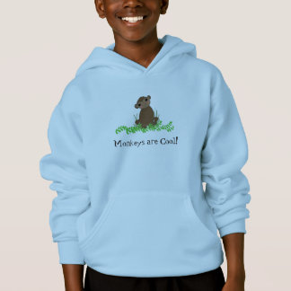 Cooler Cartoon-Affe Hoodie