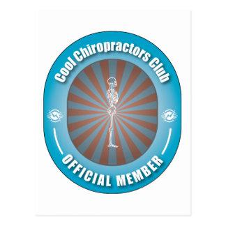Cooler Chiropraktor-Verein Postkarte