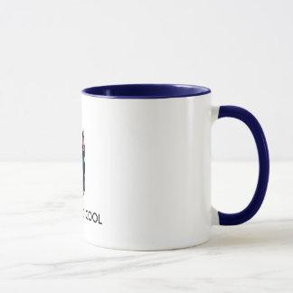Cooler Dobermann, GERADE ZU COOL Tasse