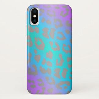 Cooler elektrischer Leopard-Tierdruck iPhone X iPhone X Hülle