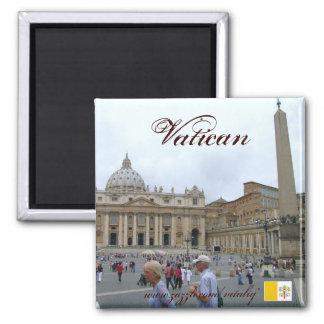 Cooler Magnet Vatikanstadts Italien Quadratischer Magnet