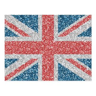 Cooler trendy BRITISCHER Postkarte