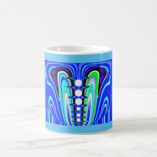 Cooles Blau Tasse