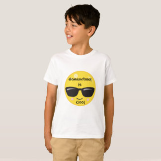 Cooles Emoji Homeschool T-Shirt