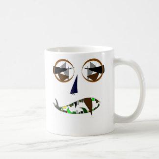 cooles Gesicht Tasse