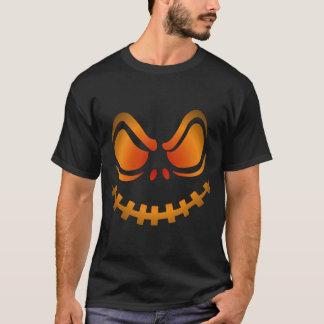 Cooles glühendes Kürbis-Halloween-Shirt T-Shirt
