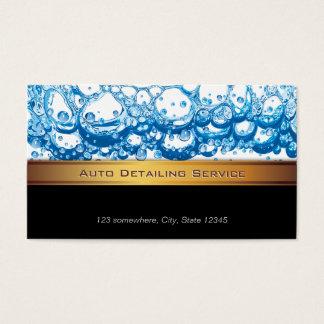 Cooles Goldstreifen-Auto-einzeln Visitenkarten