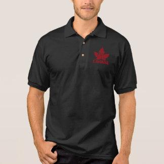 Cooles Kanada-Polo-Shirt-Retro Ahorn-Blatt-Shirts Polo Shirt