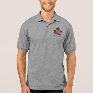 Cooles Kanada-Polo-Shirt-Retro Kanada-Golf-Shirt Polo Shirt