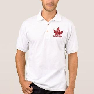 Cooles Kanada-Polo-Shirt-Retro Polo Shirt