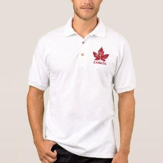 Cooles Kanada-Polo-Shirt-Retro Poloshirt
