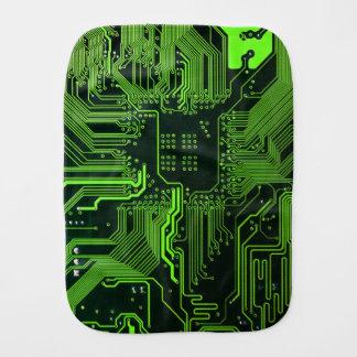 Cooles Leiterplatte-Computer-Grün Spucktuch