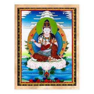 Cooles orientalisches tibetanisches thangka postkarten