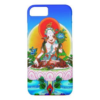 Cooles orientalisches tibetanisches thangka weiße iPhone 7 hülle