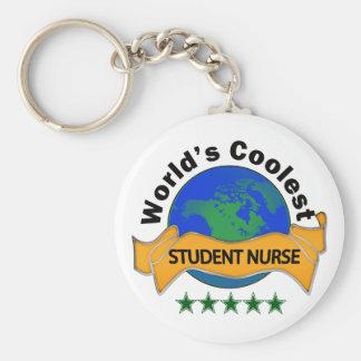 Coolste der Studenten-Krankenschwester der Welt Standard Runder Schlüsselanhänger