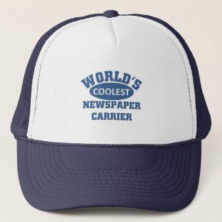 Coolste die Zeitungs-Fördermaschine der Welt Truckerkappe