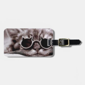 Coolste Katzen-lebendiger Gepäck-Umbau Kofferanhänger