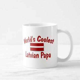 Coolster lettischer Papa Tasse