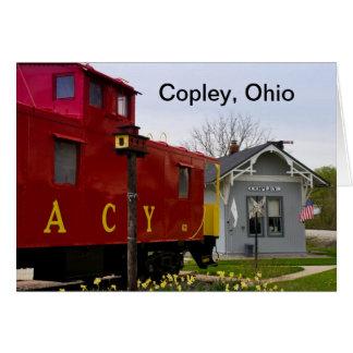 Copley Tain Depot Karte