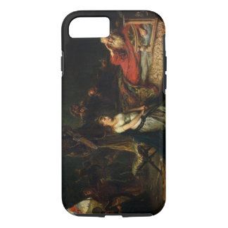 Cordelia und König Lear (Öl auf Leinwand) iPhone 8/7 Hülle