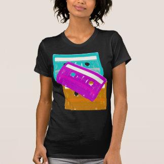 Corey Tiger-80er Kassetten-Band-Shirt Shirt