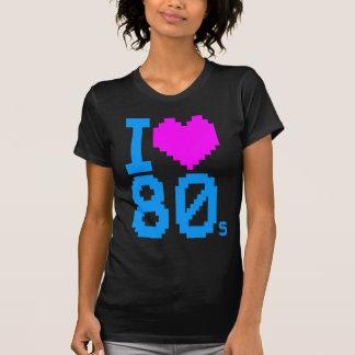 Corey Tiger-80er Retro I Liebe-80er Shirt