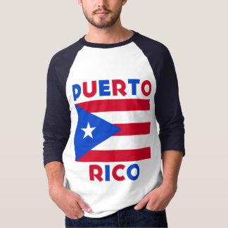 Corey Tiger-80er Vintage Puerto- Ricoflagge Hemd