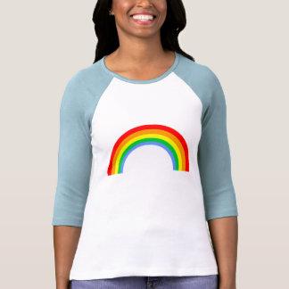 Corey Tiger-80er Vintager Regenbogen T Shirt