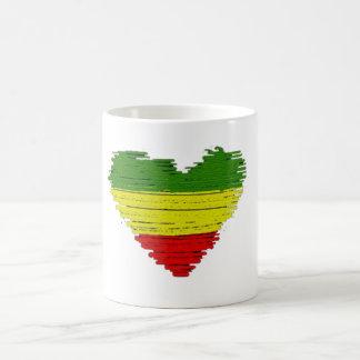 Cori Reith Rasta Liebeherzen Reggae einer Tasse