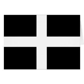 Cornwall-Flagge Karte