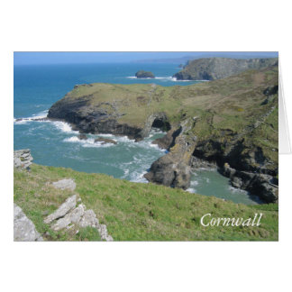 Cornwall-Küste Karte