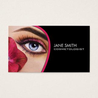 Cosmetologistcosmetology-Maskenbildner elegant Visitenkarten