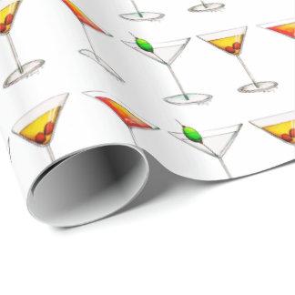 Cosmo Martini Manhattan Cocktail-Glas-Getränke Geschenkpapier
