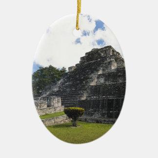 Costa-Maya Chacchoben Mayaruinen Ovales Keramik Ornament