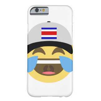 Costa Rica-Hut, der Emoji lacht Barely There iPhone 6 Hülle