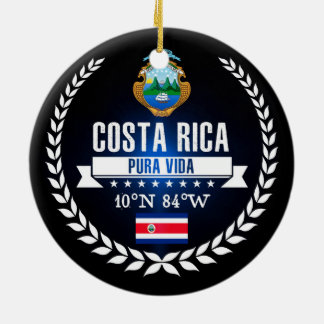 Costa Rica Keramik Ornament