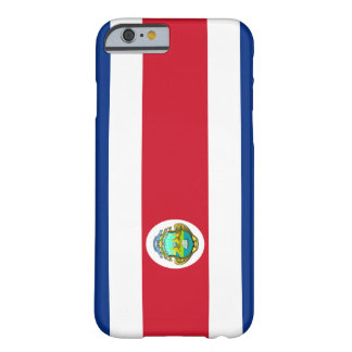 Costa Rican Flagge iPhone 6 Fall Barely There iPhone 6 Hülle