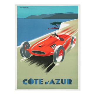 Cote d'Azure - französisches Riviera Postkarte