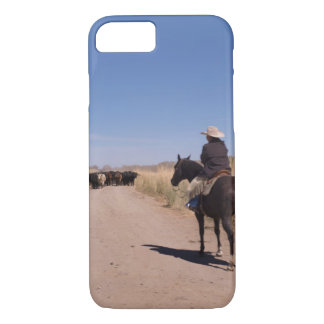 Cowboy-Nachmittags-Leinwand-Druck iPhone 8/7 Hülle
